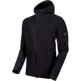 Mammut Macun SO Capuchon Jas Heren, black
